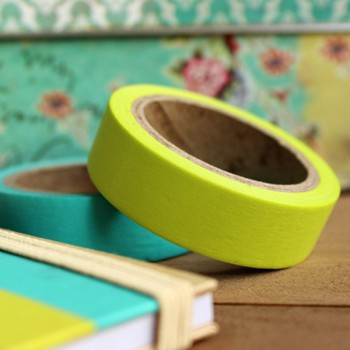 Masking Tape color verde lima