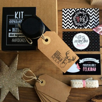 "KIT DIY ""este regalo mola!"""