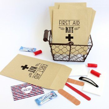 "Paq. sobres ""FIRST AID KIT"""